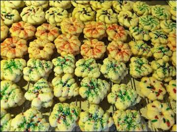 Basic Spritz Cookie Dough for Pressed Cookies