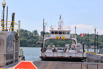 Photo: The ferry along the Loyalist Parkway to Picton.