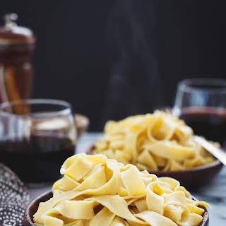 Homemade Gluten-Free Chickpea Pasta {a collaboration}.