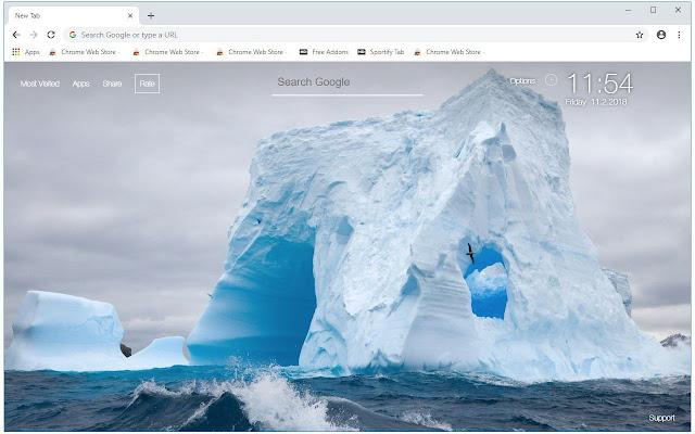 Antarctica HD Wallpapers New Tab Themes