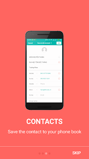 Card Scanner - Contact Creator - náhled