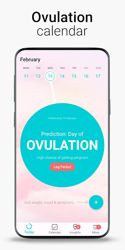 Period Tracker Flo. Ovulation Calendar & Pregnancy screenshot 4