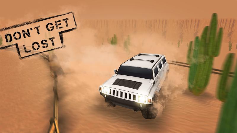 Скриншот Экстрим 4x4 Desert внедорожник