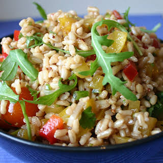 Rainbow Rice Salad.