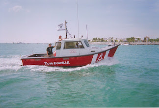 Photo: TowBoat Ranger on patrol during the 2008 Powerboat Races, Key West Harbour