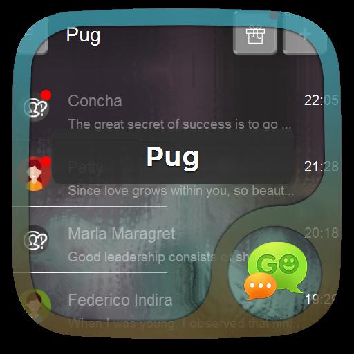 個人化App|泥料Ní liào GO SMS LOGO-3C達人阿輝的APP