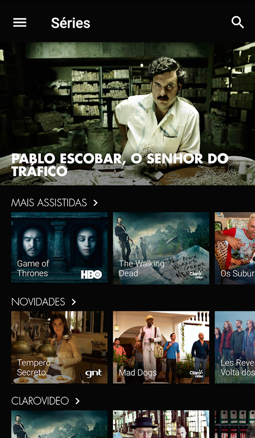 NOW  NET e Claro- screenshot