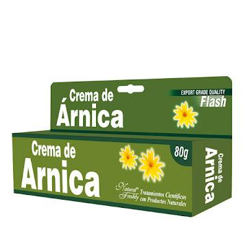 Crema de Árnica Tubo   x80G. Natural Freshly Árnica