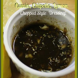 Cumin, Chipotle, Lemon Chopped Style Dressing