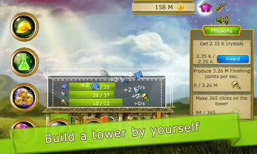 Tower to Space Clicker Idle- screenshot thumbnail