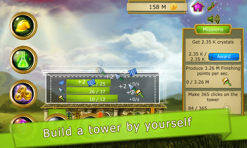 Tower to Space Clicker Idle- screenshot