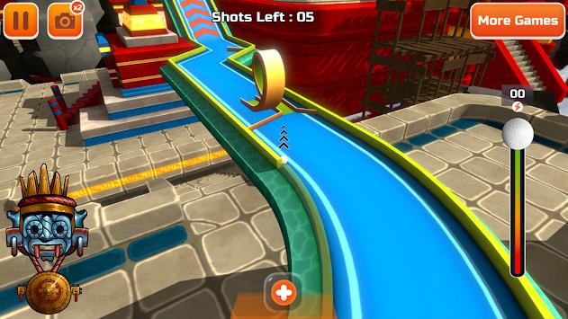 Mini Golf 3D City Stars Arcade apk screenshot