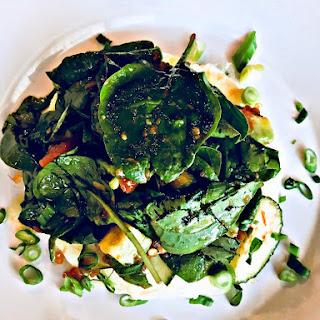 Spinach & Zucchini Egg White Frittata.