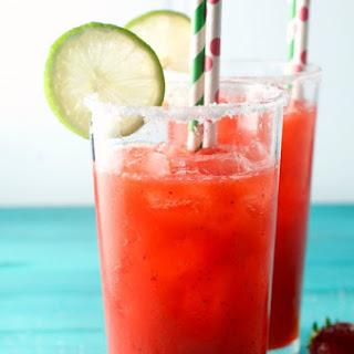 Strawberry Jalapeño Margarita