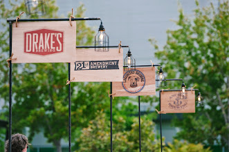 Photo: There were plenty of local craft brews on tap.