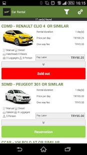 eCar Kayseri Car Rental- screenshot thumbnail