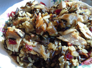 Cranberry Rice With Carmelized Onions Recipe