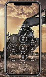 Construction Lock Screen - náhled