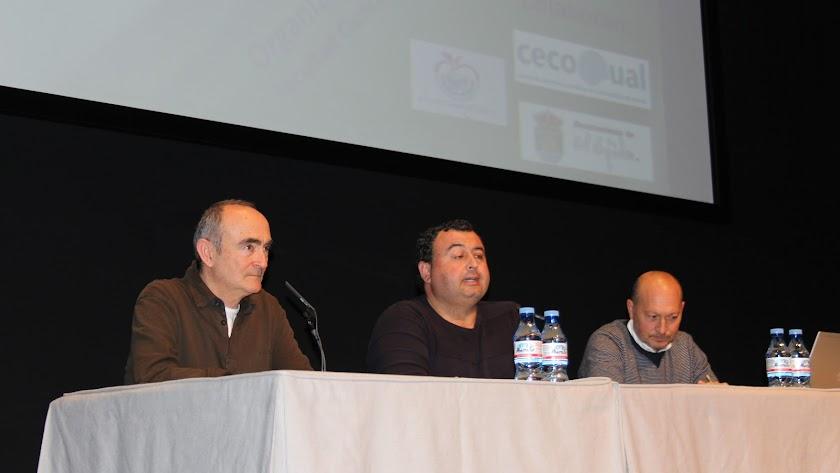 Imagen de Francisco Pérez durante su intervención.