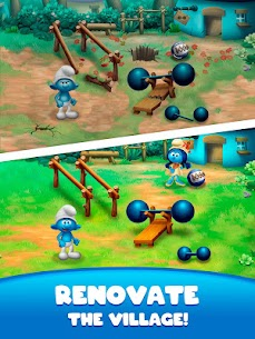 Smurfs Bubble Shooter Story 7