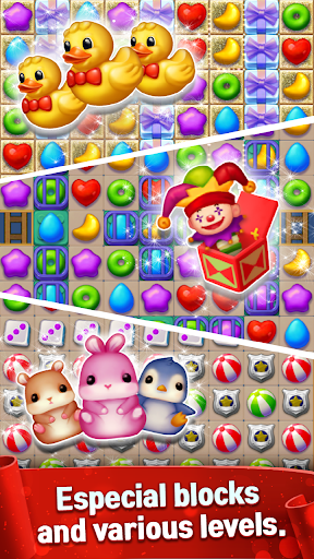 Toy Bear Sweet POP : Match 3 Puzzle apkpoly screenshots 6
