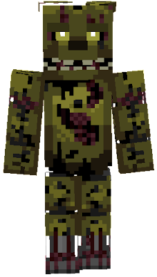Springtrap Nova Skin - Minecraft skins fur cracked minecraft