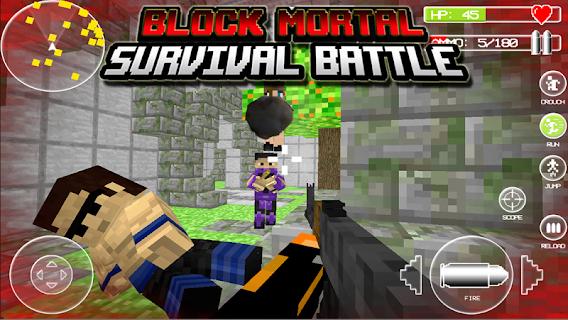 Block Mortal Survival Battle screenshot 03
