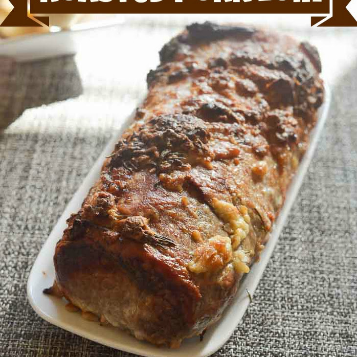 Roasted Pork Loin with Rosemary and Garlic Recipe