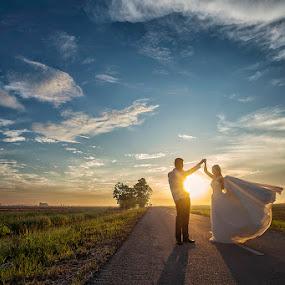 HAppy time by Nalson Chong - Wedding Bride & Groom ( prewedding, wedding, people, portrait,  )