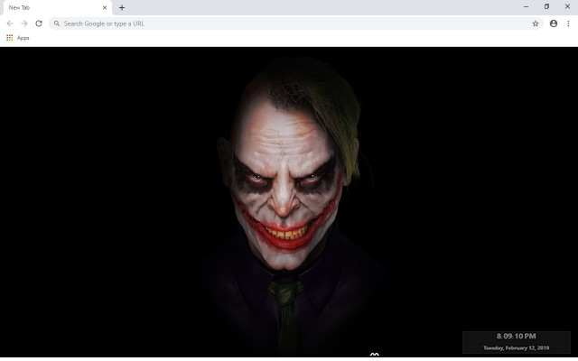 Joker New Tab & Wallpapers Collection