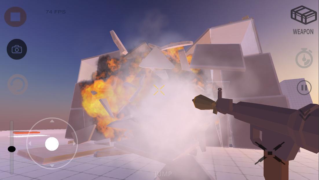 Симулятор Разрушительной Физики 3D