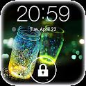 Fireflies lockscreen icon