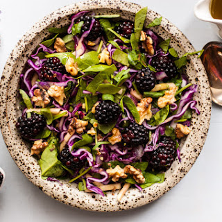 Blackberry and Caraway Slaw