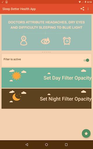 Night Shift: Blue Light Filter  screenshots 4