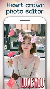 Heart Crown Photo Editor 2018 - náhled