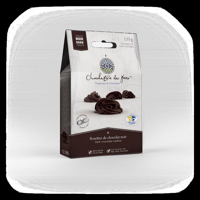 Chocolat Rosettes de chocolat noir