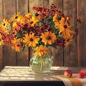 Autumn Flower Live Wallpaper icon