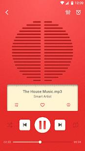 Lark Player Theme - Red Radio - náhled