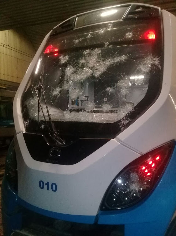 Metrorail suspends train service after a driver was
