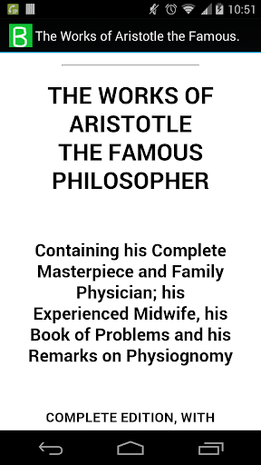 The Works of Aristotle