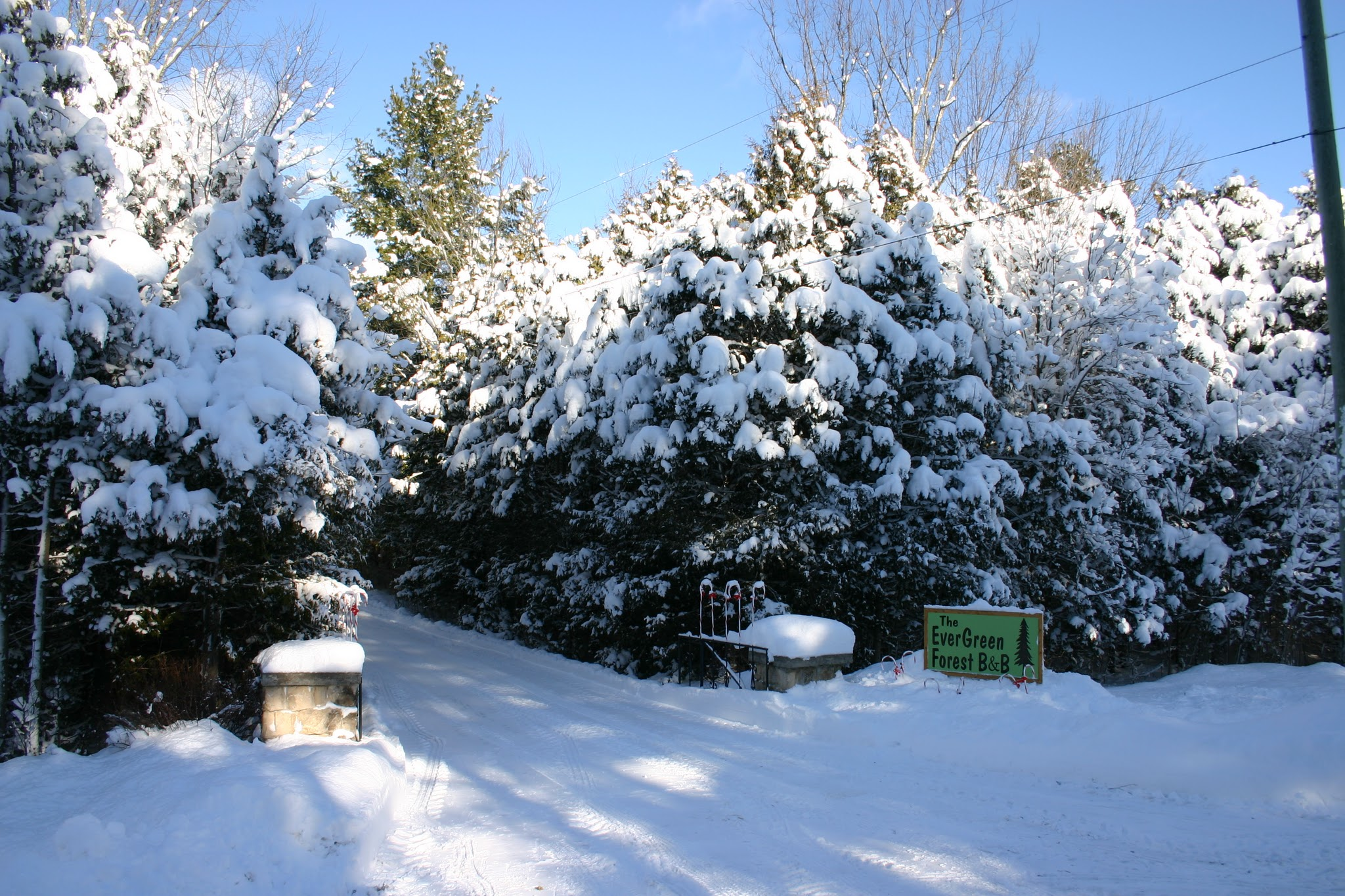 Photo: Entrance to Winter Playground