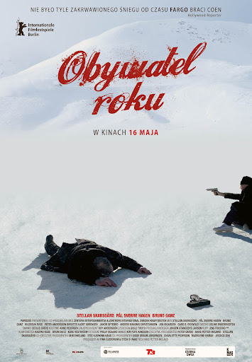 Polski plakat filmu 'Obywatel Roku'