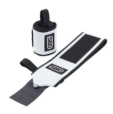 SBD Wrist Wraps, Flexible - Black/White,