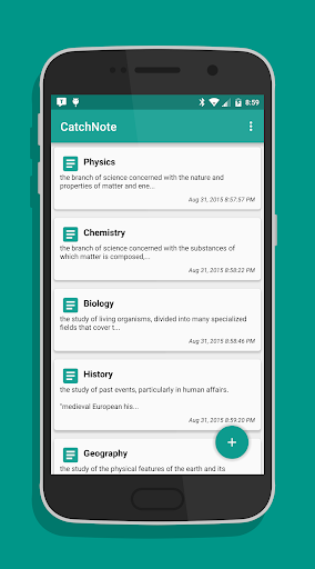 CatchNote - Quick Easy Notes