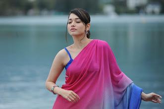 Photo: Tamanna Latest Saree Stills Gallery