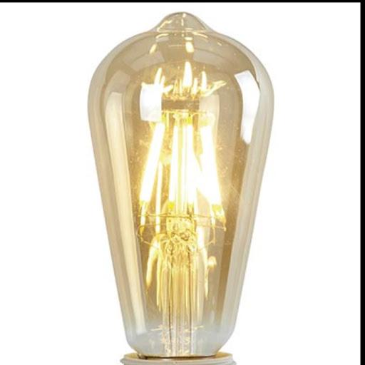 ampoule flamme à filaments