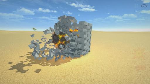 Télécharger Destruction physics: explosion demolition sandbox APK MOD (Astuce) screenshots 4