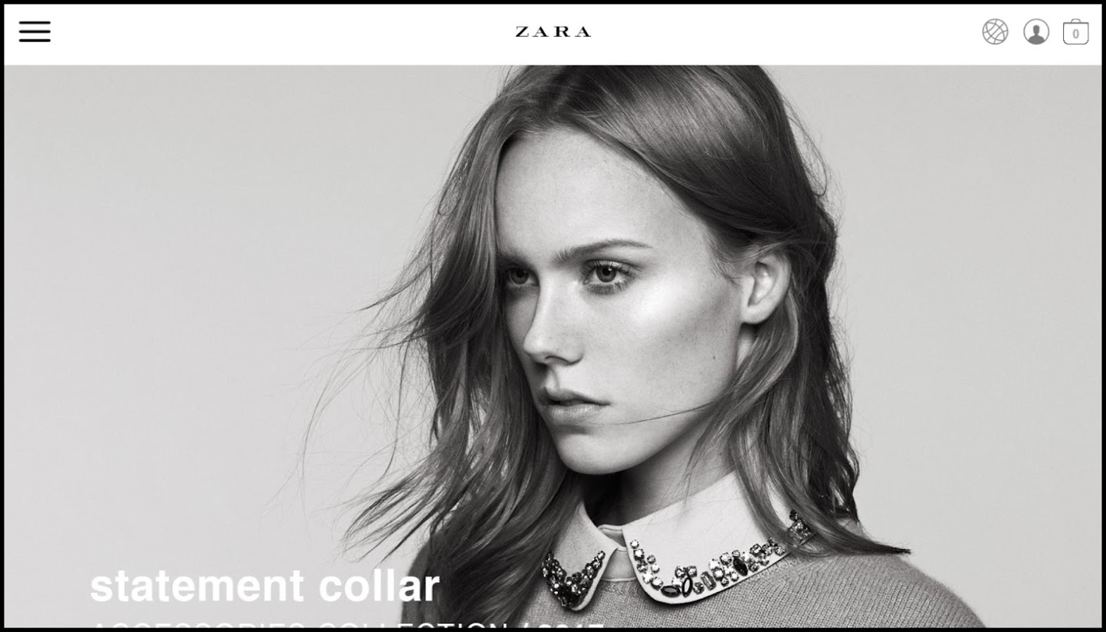 Zara- screenshot