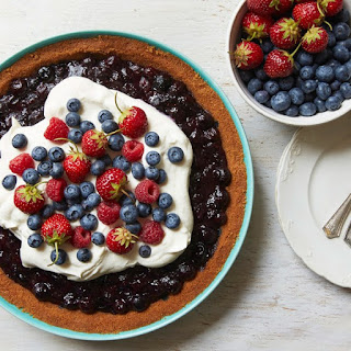 Red, White, and Blueberry Pie.