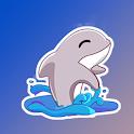 Cute Dolphin Stickers for Whatsapp - WAStickerApps icon
